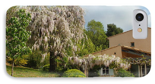 IPhone Case featuring the photograph Wisteria by Richard Patmore