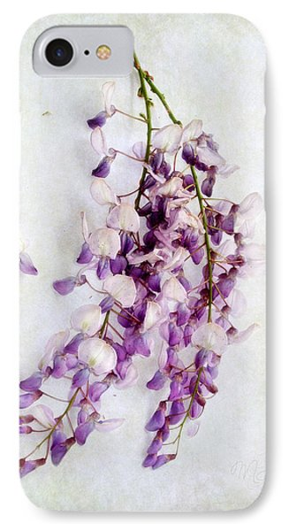 Wisteria Still Life IPhone Case by Louise Kumpf