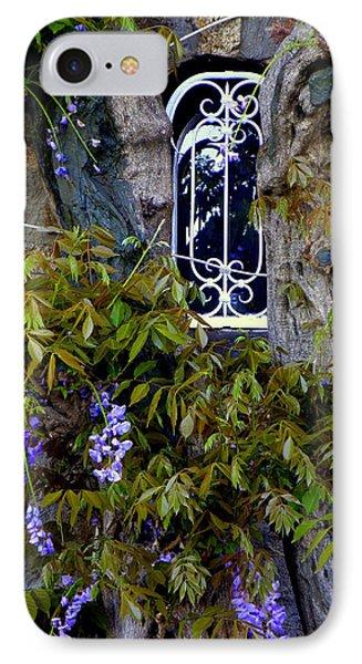 Wisteria Window Phone Case by Lainie Wrightson