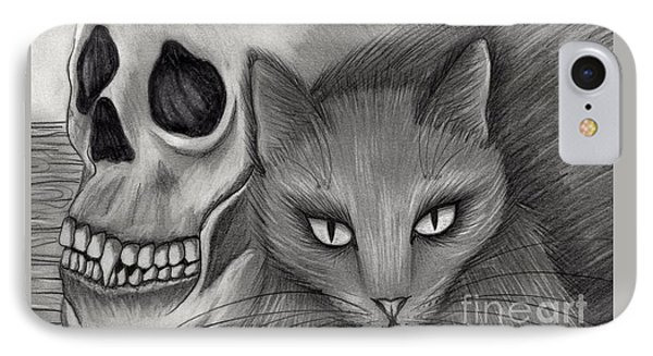 Witch's Cat Eyes IPhone Case by Carrie Hawks
