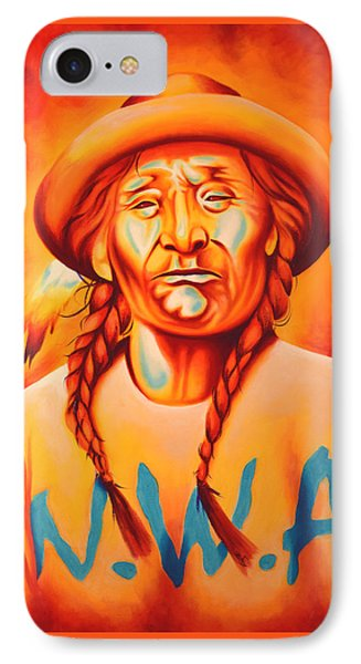 With Attitude IPhone Case by Robert Martinez