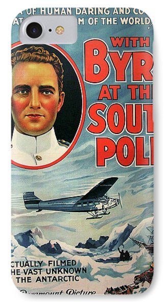 With Byrd At The South Pole 1930 IPhone Case