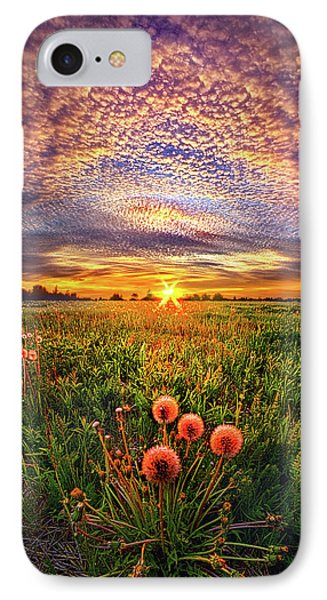 IPhone Case featuring the photograph With Gratitude by Phil Koch