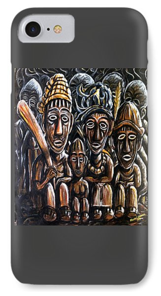 With Love A Family In Harmony IPhone Case by Mbonu Emerem