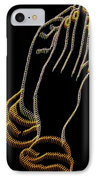 With Trembling. Hands IPhone Case by Skip Willits