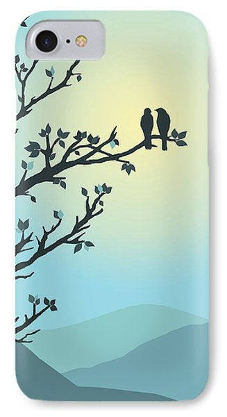 IPhone Case featuring the digital art With You By My Side by Christina Lihani