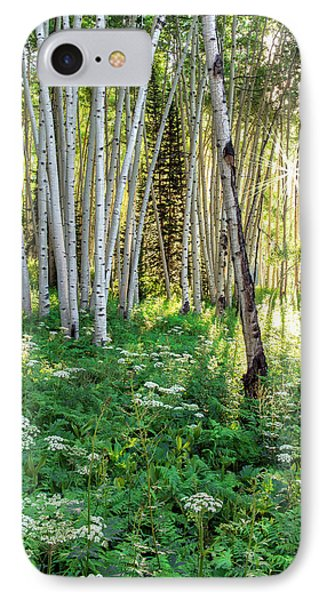 Within The Forest Deep IPhone Case by Tim Reaves