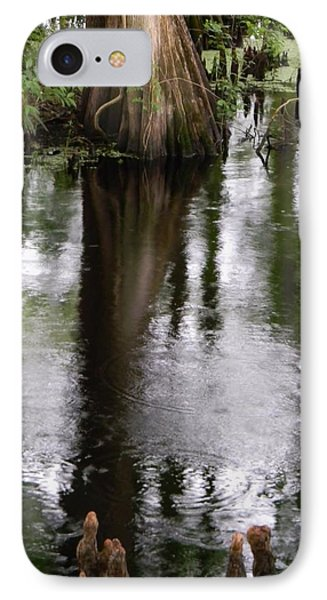 Withlacoochee River Canal Reflections IPhone Case by Warren Thompson