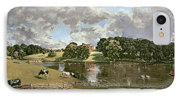 Wivenhoe Park Phone Case by John Constable