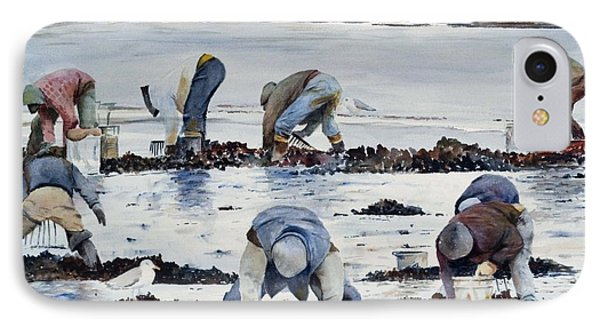 Wnter Clam Diggers IPhone Case by Dan McCole