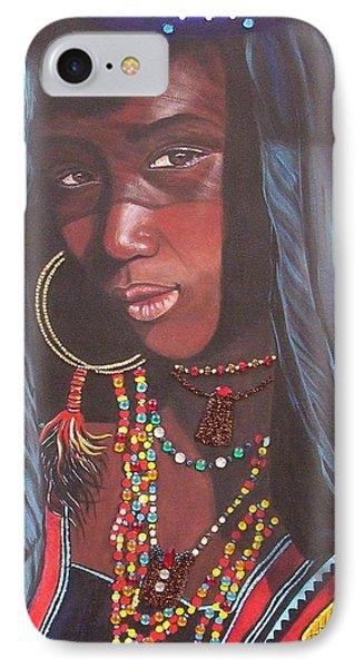 Wodaabe Girl IPhone Case