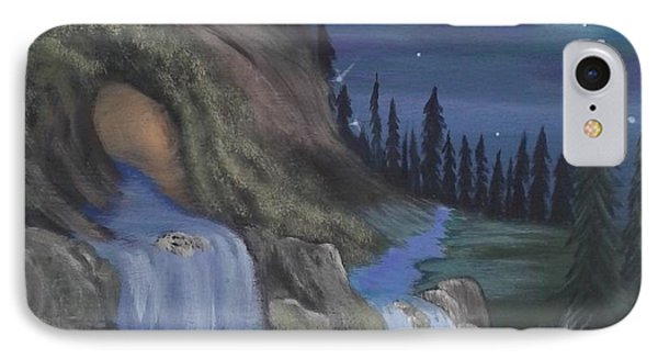 Wolf Cave  IPhone Case by Lori Lafevers