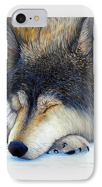 Wolf Dreams Phone Case by Brian  Commerford