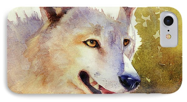 Wolf In Morning Light IPhone Case