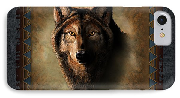 Wolf Lodge IPhone Case by JQ Licensing