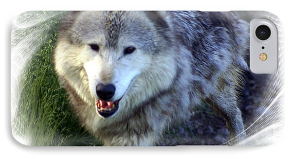 Wolf Phone Case by Marty Koch