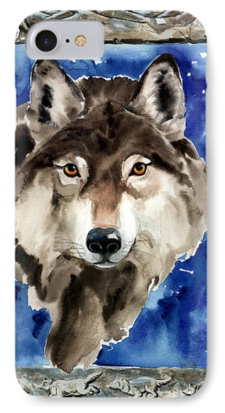 Wolf Phone Case by Nadi Spencer