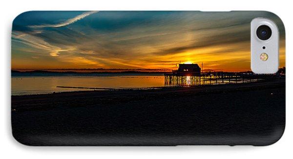 Wollaston Beach Sunrise 3 IPhone Case