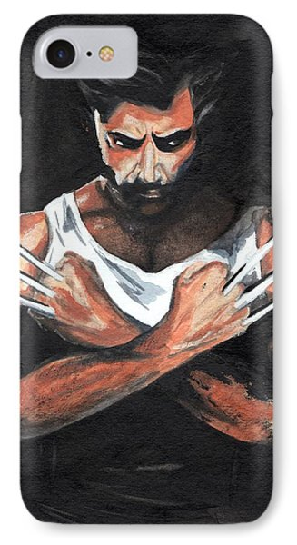 Wolverine IPhone Case by Pet Serrano