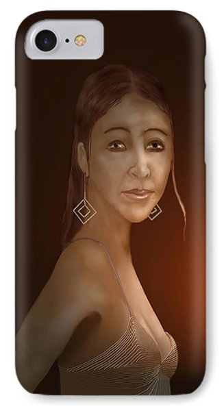 Woman 10 IPhone Case by Kerry Beverly