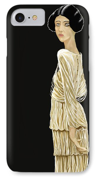 Woman 36 IPhone Case by Kerry Beverly