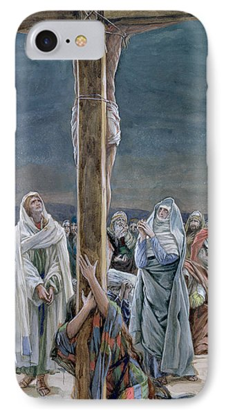 Woman Behold Thy Son IPhone Case by Tissot