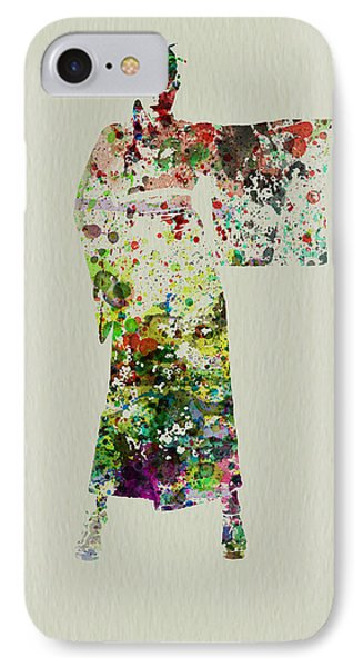 Woman In Kimono IPhone Case by Naxart Studio