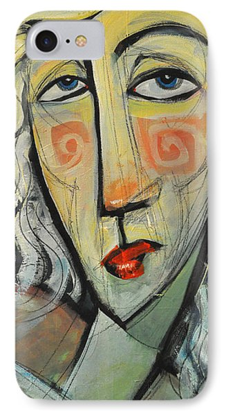 Woman In Red Hat Phone Case by Tim Nyberg