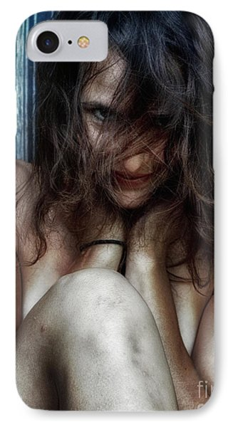 Woman In Waiting Phone Case by Steven Digman