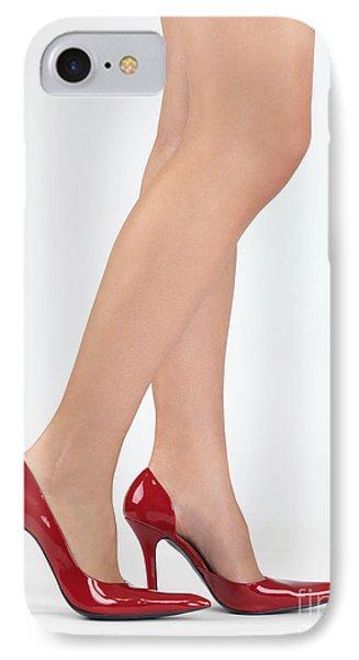 Woman Legs In High Heel Shoes Phone Case by Oleksiy Maksymenko