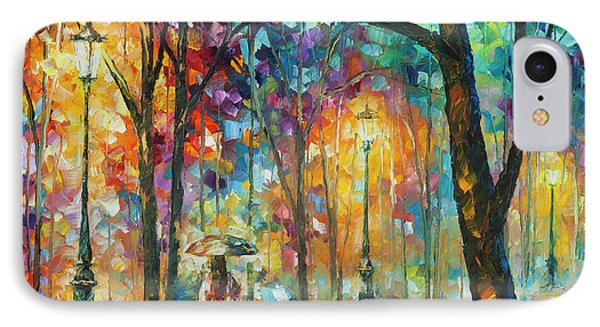 Woman Of The Night Phone Case by Leonid Afremov