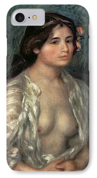 Woman Semi Nude Phone Case by Pierre Auguste Renoir