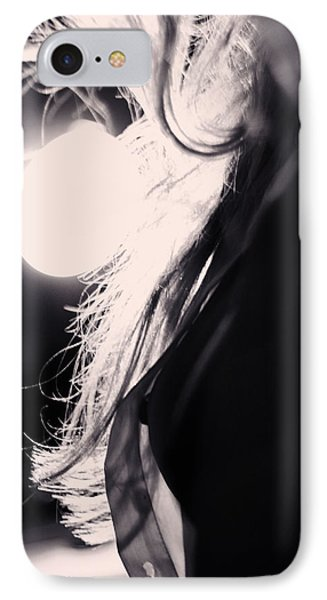 Woman Silhouette IPhone Case by Stelios Kleanthous