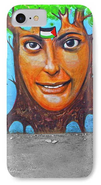 IPhone Case featuring the photograph Woman Tree by Munir Alawi