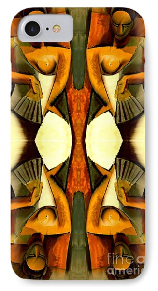 Woman With A Fan X4 IPhone Case by Picasso