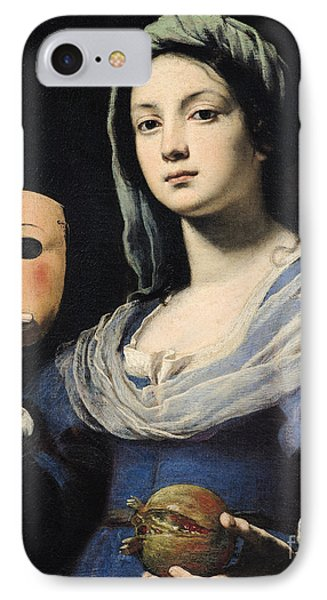 Woman With A Mask Phone Case by Lorenzo Lippi