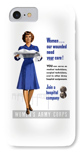 Women's Army Corps - Ww2 IPhone Case
