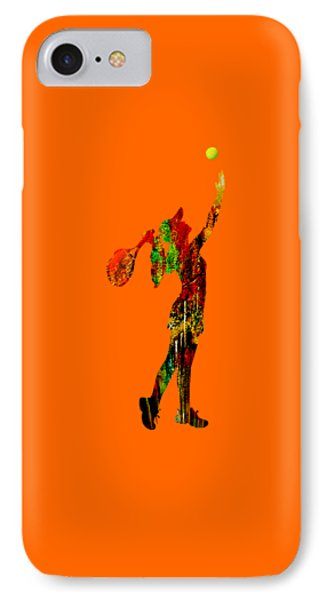 Womens Tennis Collection IPhone Case by Marvin Blaine