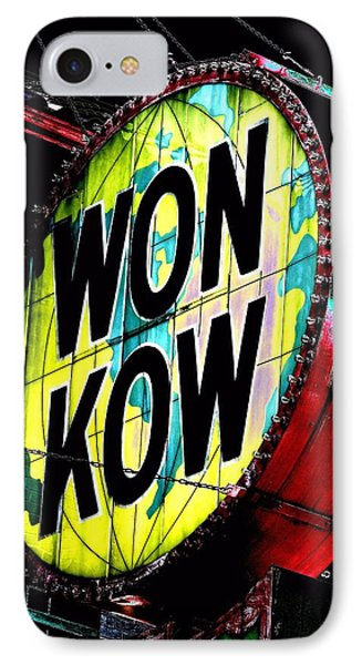 IPhone Case featuring the photograph Won Kow, Wow 3 by Marianne Dow