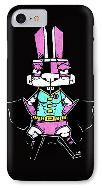 Wonder Bunny IPhone Case by Bizarre Bunny