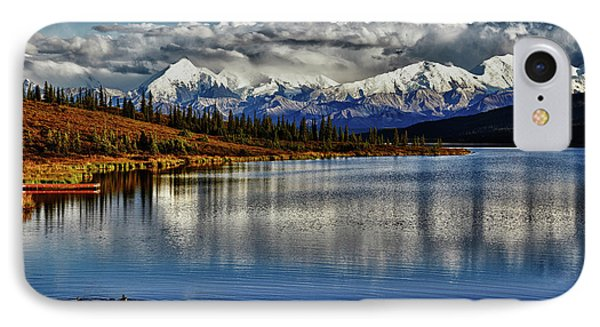Wonder Lake IIi IPhone Case by Rick Berk