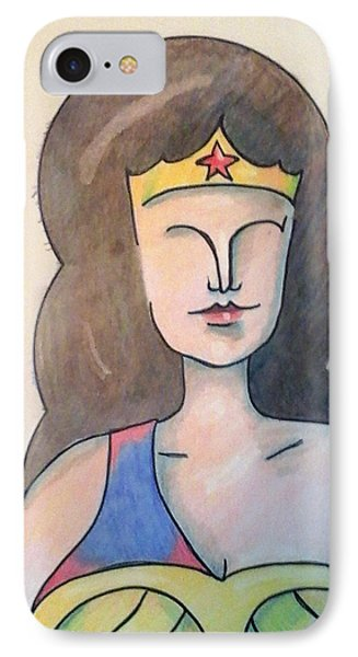 Wonder IPhone Case by Loretta Nash