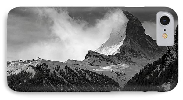 Wonder Of The Alps Phone Case by Neil Shapiro