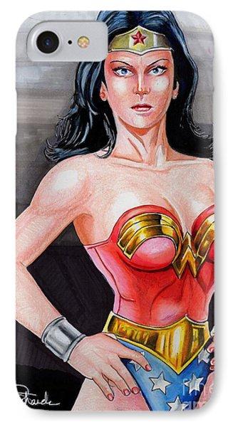 Wonder Woman 2 Phone Case by Bill Richards