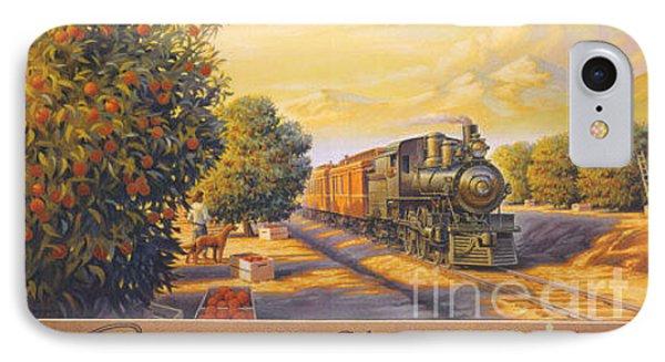 Wonderful California IPhone Case by Nostalgic Prints