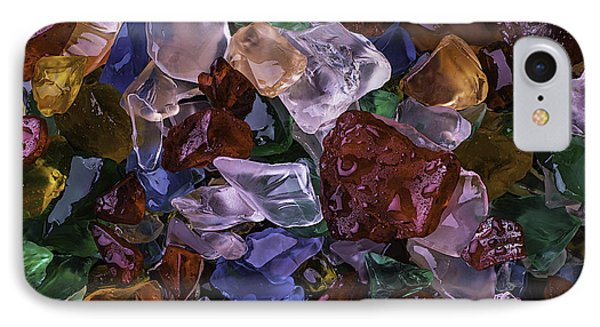Wonderful Colored Sea Glass IPhone Case by Garry Gay