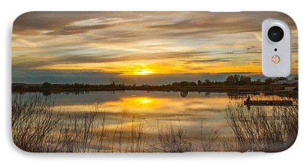 Wonderful Sunset IPhone Case by Robert Bales