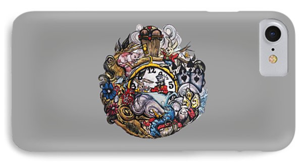 Wonderland IPhone Case by Cat Paschal Dolch