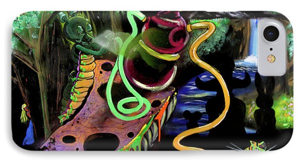 IPhone Case featuring the painting Wonderland by eVol i