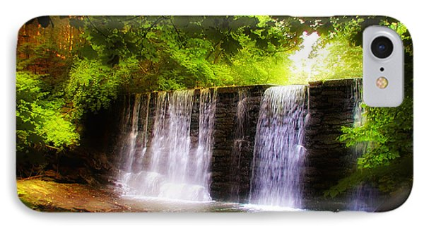 Wondrous Waterfall IPhone Case by Bill Cannon